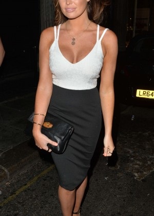 Jessica Wright - Night out in London