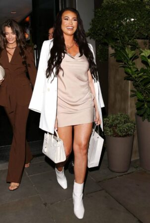 Jessica Wright - Pictured at The South Place Hotel in London