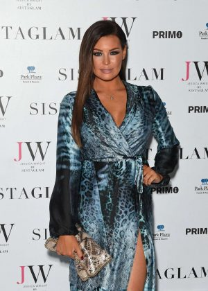 Jessica Wright - Sistaglam Launch Party in London