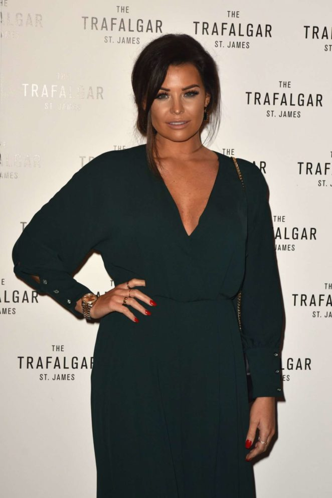 Jessica Wright - The Trafalgar St James Launch Party in London