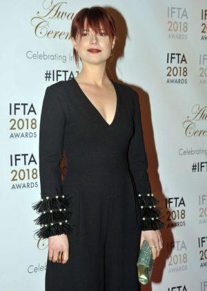 Jessie Buckley - 2018 IFTA Film and Drama Awards in Dublin
