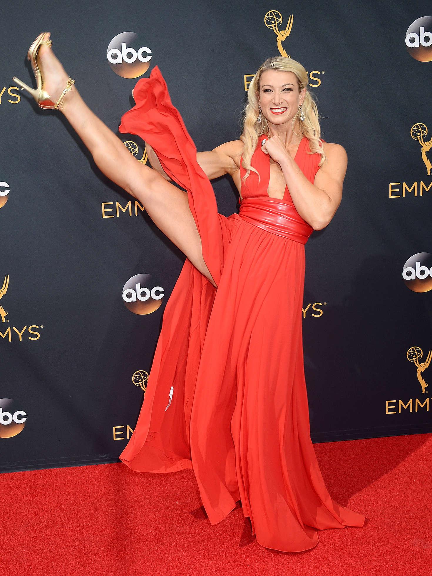 Jessie Graff 2016 Emmy Awards In Los Angeles Gotceleb