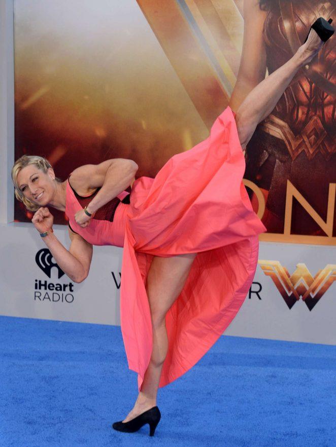 Jessie Graff - 'Wonder Woman' Premiere in Los Angeles