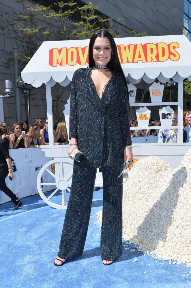 Jessie J - 2015 MTV Movie Awards in LA