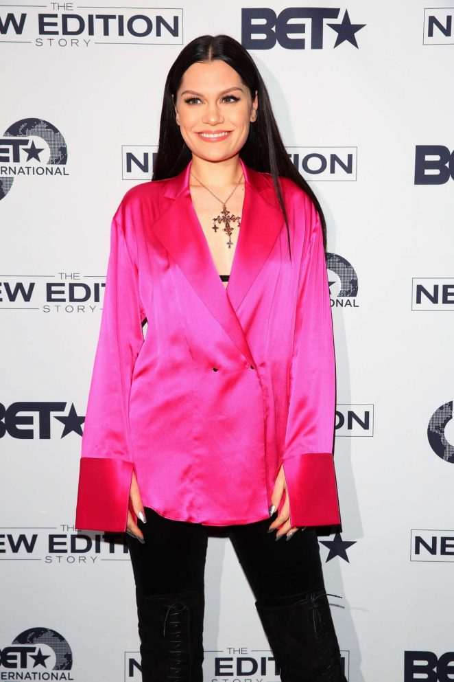 Jessie J - BET presents the New Edition Story VIP Screening in London