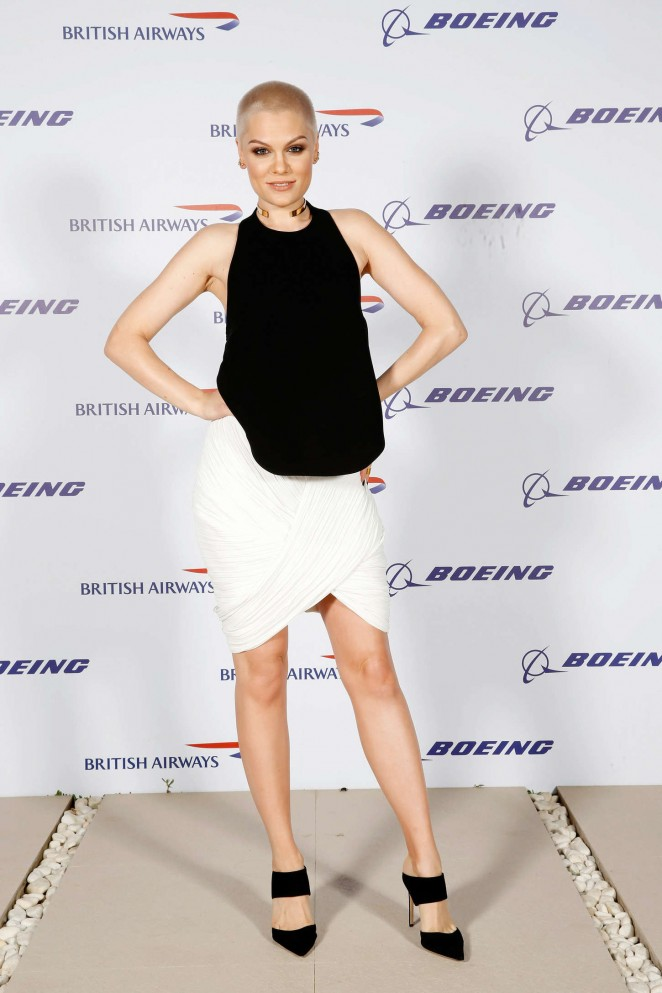 Jessie J - Boing 787-9 Launch in Abu Dhabi