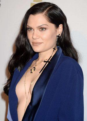 Jessie J - Clive Davis Pre-Grammy Party 2017 in Los Angeles