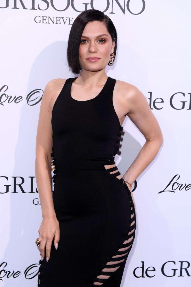 Jessie j black dress party