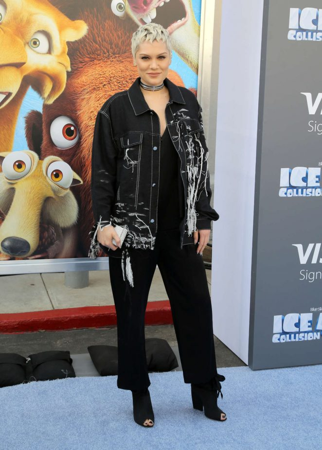 Jessie J - 'Ice Age: Collision Course' Premiere in Los Angeles