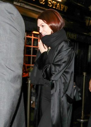 Jessie J - Leaving the Hippodrome in London