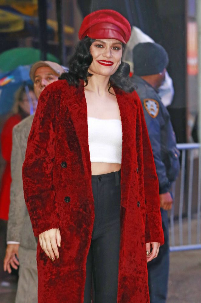 Jessie J – Outside of Good Morning America in New York