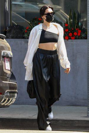 Jessie J - Seen at Crossroads Kitchen in West Hollywood