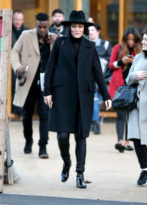 Jessie J Street Style - Out and about in London