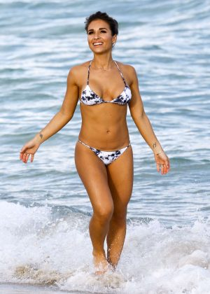 Jessie James Decker in Bikini on Miami Beach