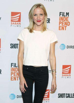 Jessy Schram - 'Shot Caller' Premiere in Los Angeles