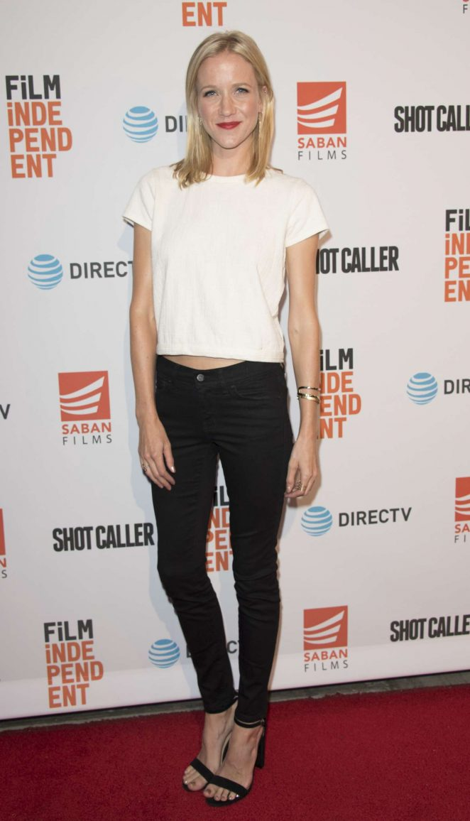 Jessy Schram: Shot Caller Premiere in Los Angeles -12 ...