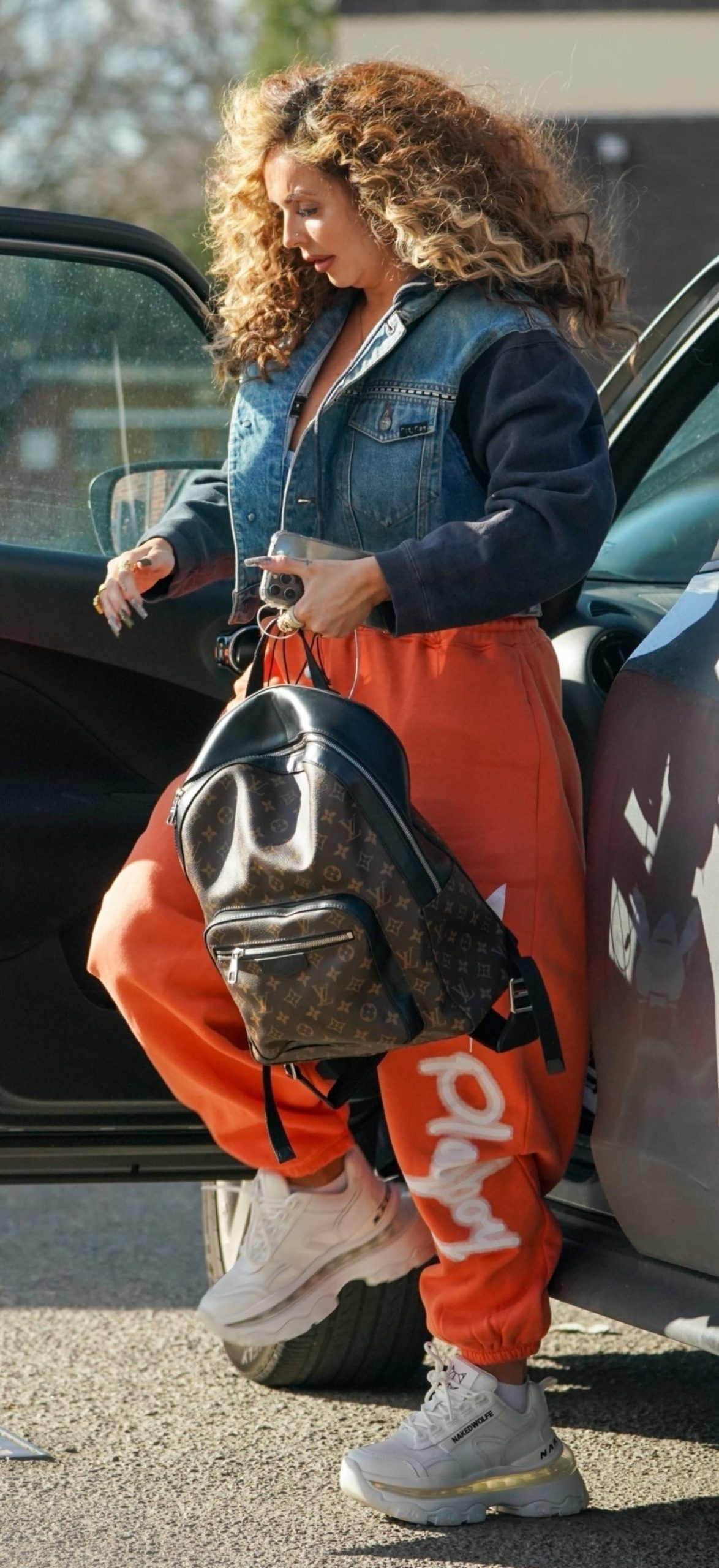 Jesy Nelson - Arrive for a studio session in London