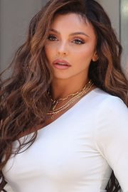 Jesy Nelson - Global Radio appearance in London