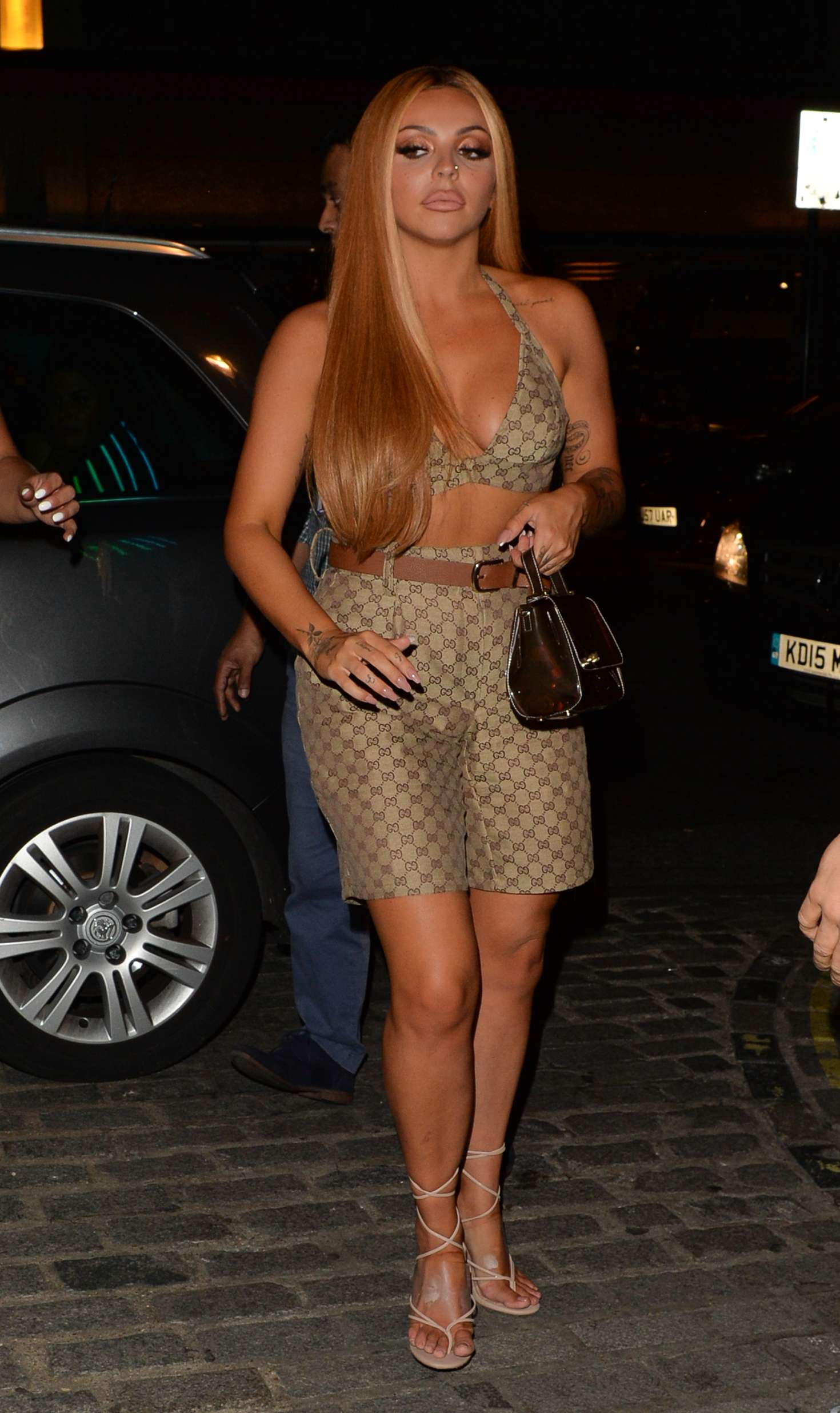 Jesy Nelson - Leaving Bunga Bunga Covent Garden in London