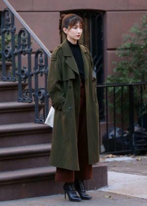 Jiang Shuying - Filming 'In New York' in New York City