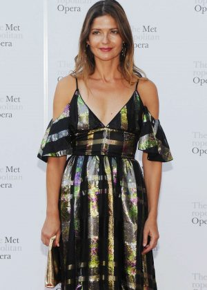 Jill Hennessy - Metropolitan Opera Opening Night Gala in New York
