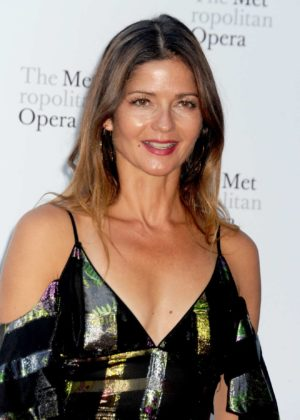Jill Hennessy - Metropolitan Opera Opening Night in New York