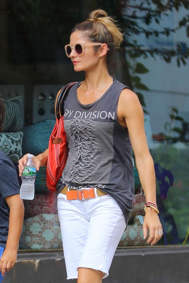 Jill Hennessy out in New York