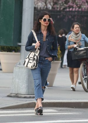 Jill Hennessy - Out in the West Village