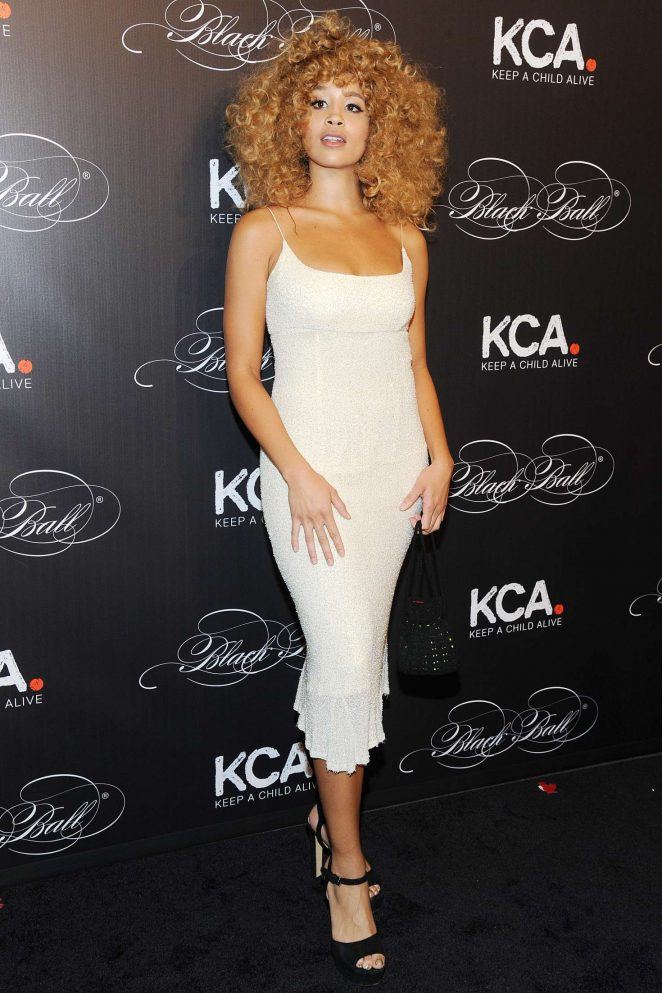 Jillian Hervey - Keep a Child Alive's 13th Annual Black Ball in New York