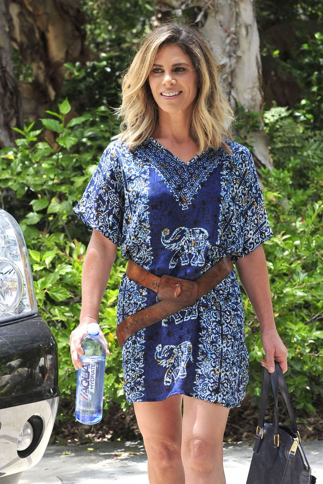 Jillian Michaels - Out and about in Malibu