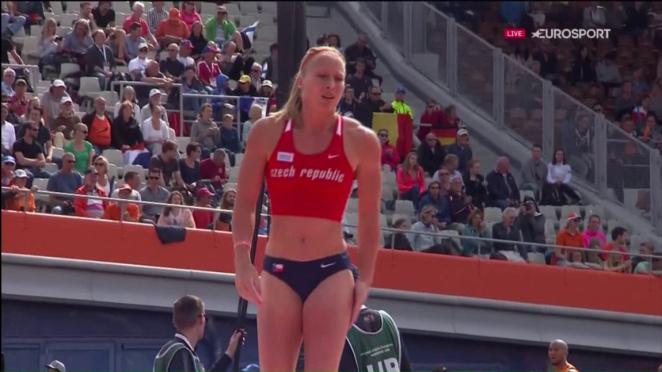 Jirina Ptacnikova - Euro Athletics Champs 2016 in Amsterdam
