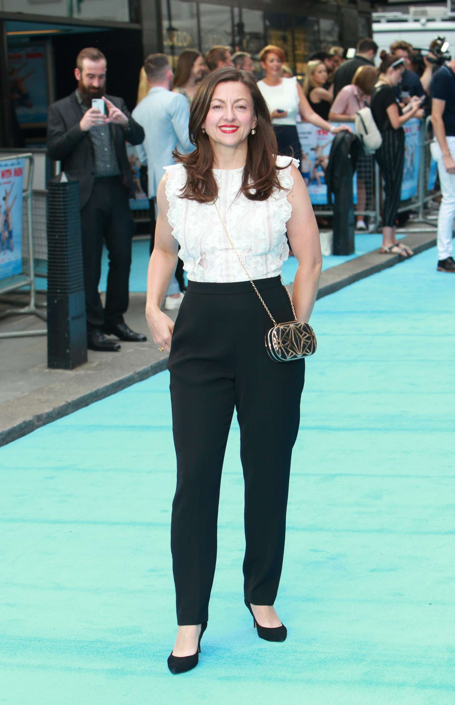 JO HARTLEY at Swimming with Men Premiere in London 07/04