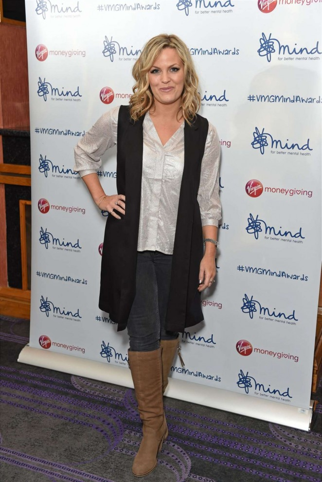 Jo Joyner - 2015 Mind Media Awards in London