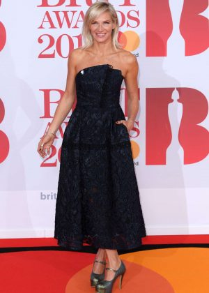 Jo Whiley - 2018 Brit Awards in London