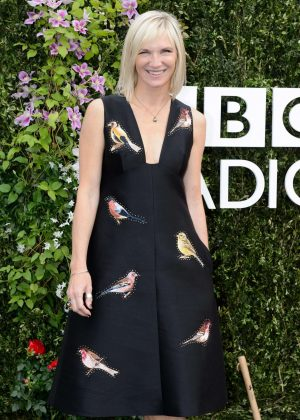 Jo Whiley - Chelsea Flower Show in London