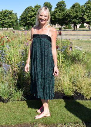 Jo Whiley - Hampton Court Flower Show 2018 in London