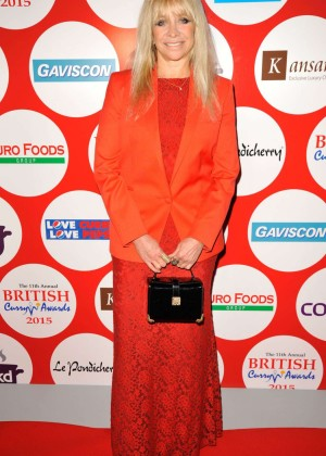Jo Wood - 2015 British Curry Awards in London