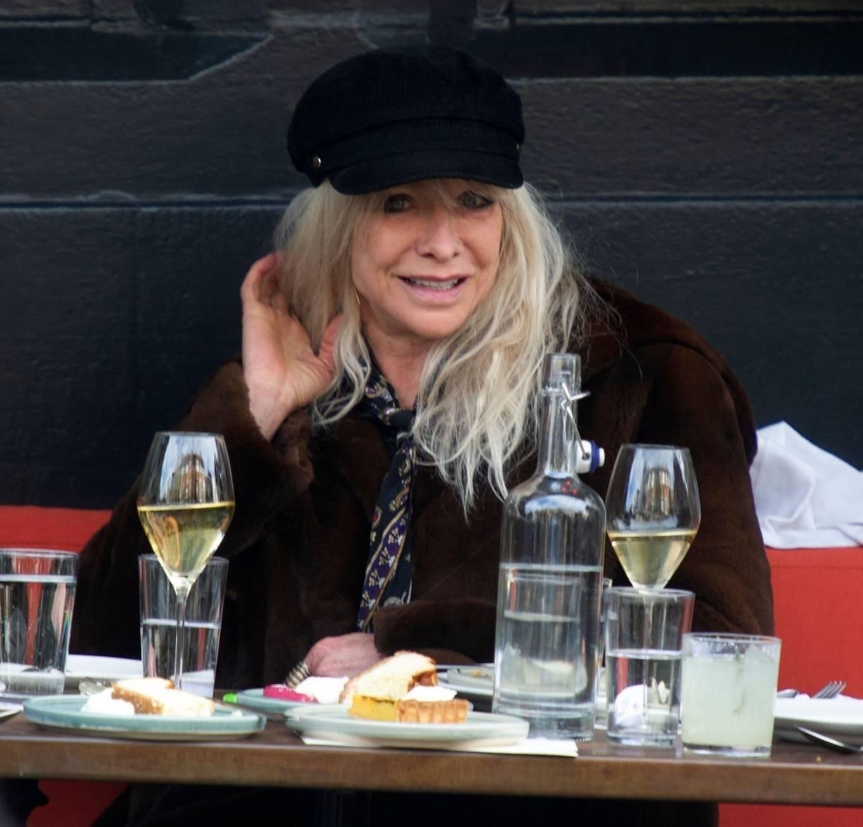 Jo Wood - out in London's Portobello