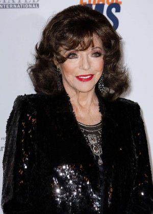 Joan Collins - 2018 Race to Erase MS Gala in Los Angeles