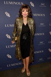 Joan Collins - 2019 BFI Luminous Fundraising Gala in London