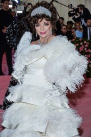Joan Collins - 2019 Met Gala in NYC