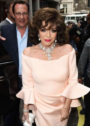 Joan Collins - Hello! Magazine x Dover Street Market Party in London
