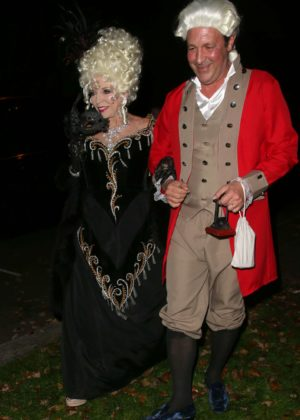 Joan Collins - Jonathan Ross Halloween Party in London