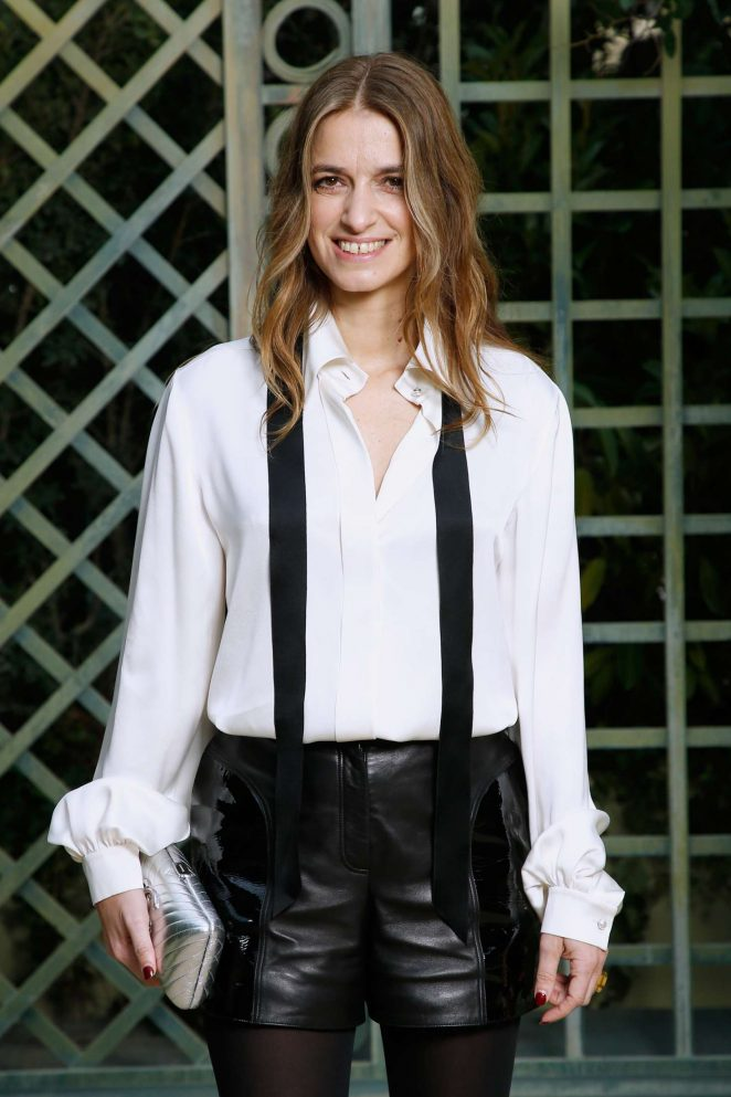 Joan Preiss - Chanel Haute Couture SS 2018 Show in Paris