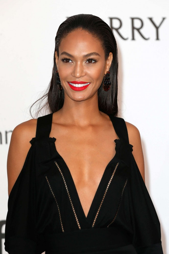 Joan Smalls - amfAR 2015 Cinema Against AIDS Gala in Cannes