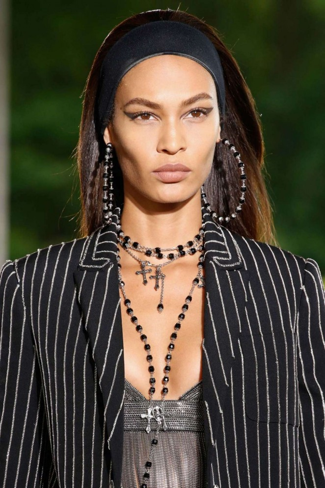 Joan Smalls - Givenchy 2016 Fashion Show in Paris