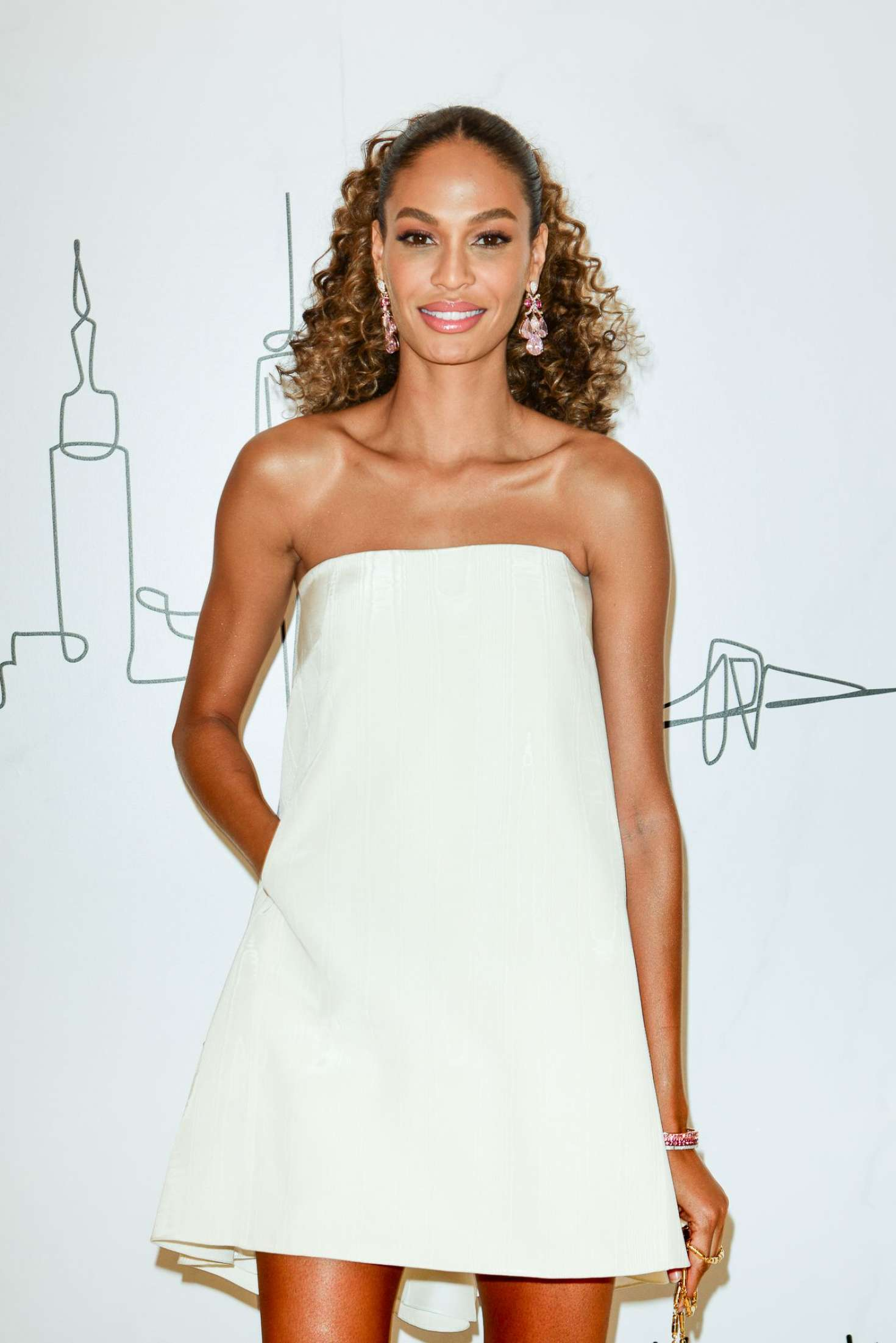 Joan Smalls - Neiman Marcus Hudson Yards Party in New York