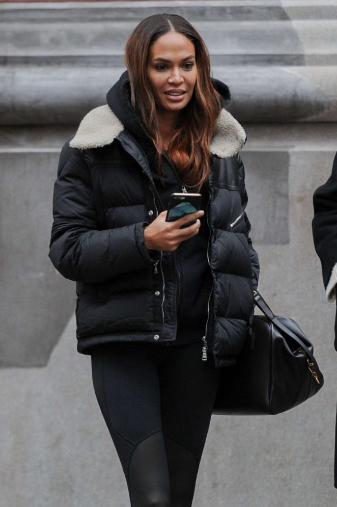 Joan Smalls - Out in SoHo