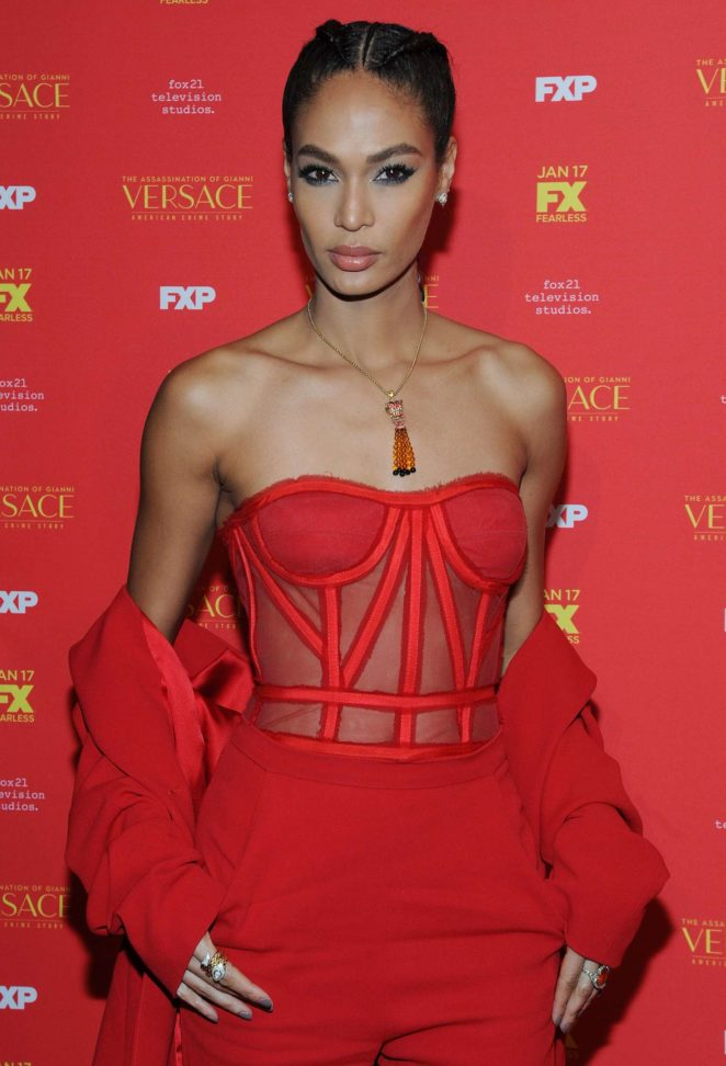 Joan Smalls – 'The Assassination of Gianni Versace' Premiere in NY