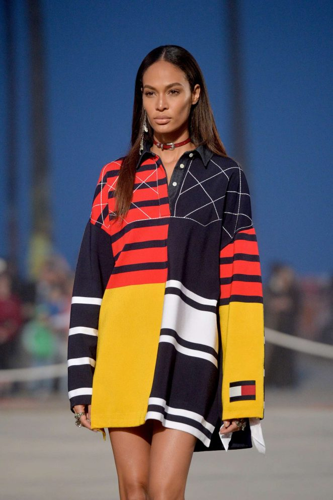 Joan Smalls - TommyLand Tommy Hilfiger Runway Spring 2017 Fashion Show in Venice